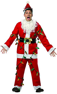 National Lampoon's Christmas Vacation Santa Suit