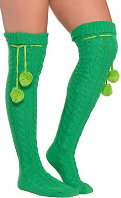 Green Boot Socks