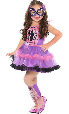 Girls Tutu Spider-Girl Costume