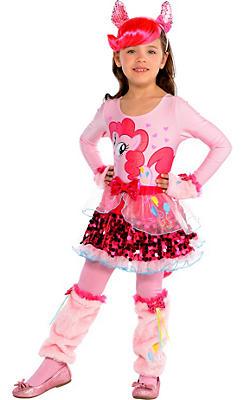 Girls Pretty Pinkie Pie Costume - My Little Pony