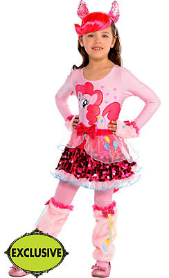 Girls Pretty Pinkie Pie Costume - My Little Pony
