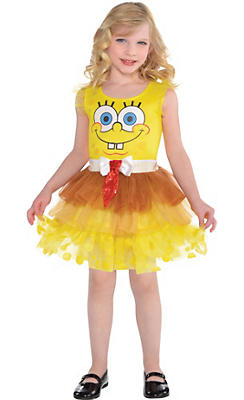 Child SpongeBob Tutu Dress