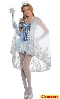 White Ice Princess Cape