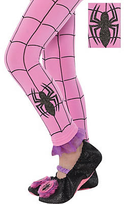 Child Spider-Girl Footless Tights