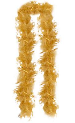 Gold Feather Boa