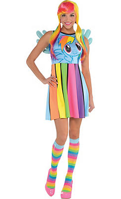 Rainbow Dash Dress - My Little Pony