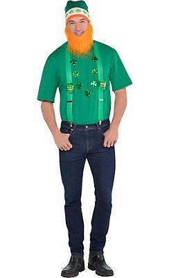 Adult Hipster Leprechaun St. Patrick's Day Accessory Kit