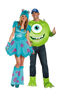 Monsters University Couples Costumes