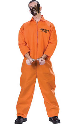 Adult Cell Block Psycho Prisoner Costume
