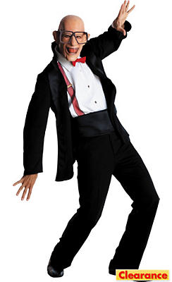 Adult Six Flags Mr. Six Costume