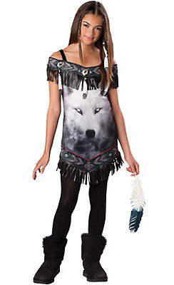 Girls Tribal Spirit Costume