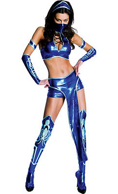 Adult Kitana Costume - Mortal Kombat