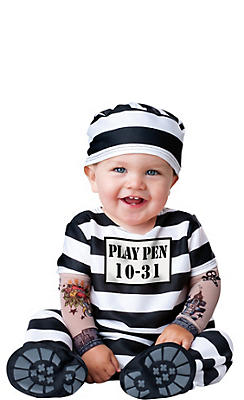 Baby Time Out Prisoner Costume