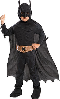 Little Boys Batman Muscle Deluxe Costume - The Dark Knight