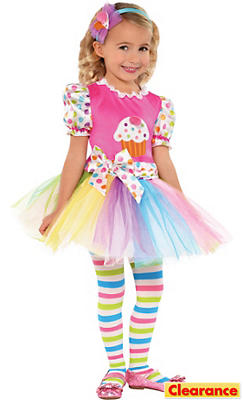 Toddler Girls Lil' Cupcake Cutie Costume