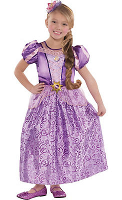 Toddler Girls Classic Rapunzel Costume