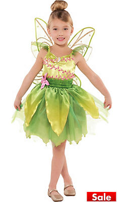 Toddler Girls Classic Tinker Bell Costume