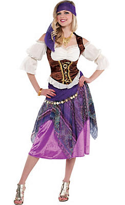 Adult Sexy Fortune Teller Costume