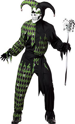 Adult Jokes On You Evil Jester Costume