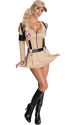 Adult Sassy Ghostbusters Costume
