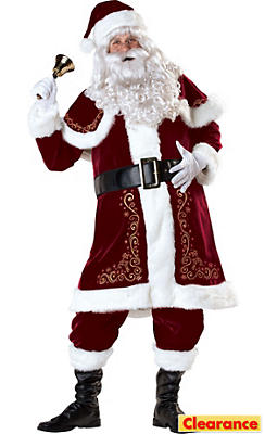 Adult Jolly Ole St. Nick Costume