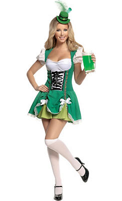 Adult Lucky Irish Lass Costume