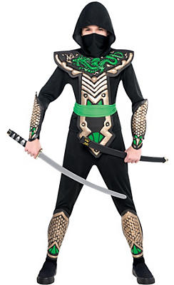 Boys Ninja Dragon Slayer Costume