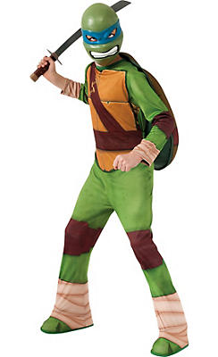 Boys Leonardo Costume - Teenage Mutant Ninja Turtles