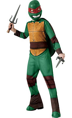 Boys Raphael Costume - Teenage Mutant Ninja Turtles