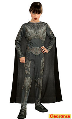 Girls Faora Costume Man of Steel - Superman