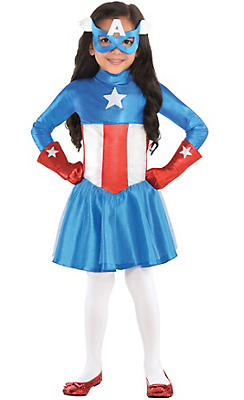 Toddler Girls American Dream Costume
