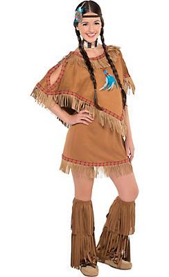 Teen Girls Native American Princess Costume