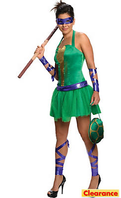 Adult Sassy Donatello Costume - Teenage Mutant Ninja Turtles