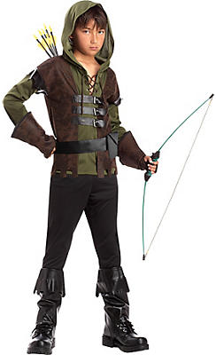 Boys Rugged Robin Hood Costume