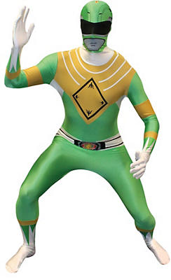 Adult Green Power Ranger Morphsuit