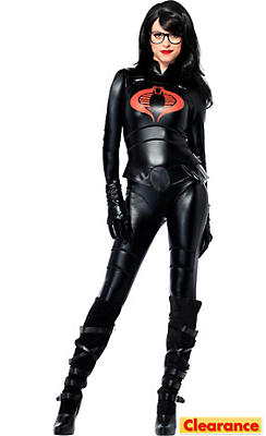 Adult Sassy Baroness Costume - G.I. Joe