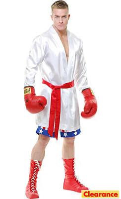 Adult The Boxer Costume