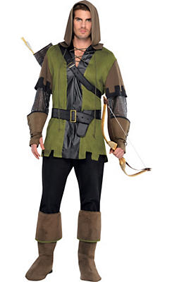 Adult Prince of Thieves Robin Hood Costume