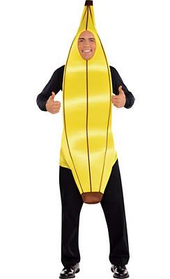 Adult Going Banana Costume