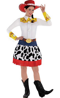 Adult Jessie Costume Deluxe - Toy Story