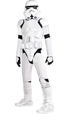 Boys Stormtrooper Costume Deluxe - Star Wars