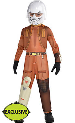 Boys Ezra Costume - Star Wars Rebels