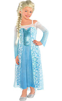 Toddler Girls Elsa Costume - Frozen