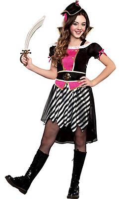 Girls Pretty Li'l Pirate Costume