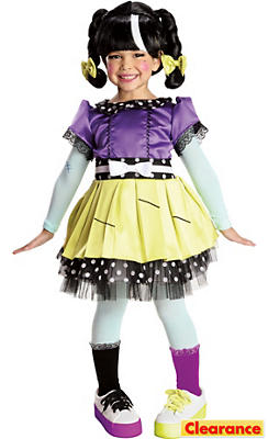 Toddler Girls Scraps Stitched 'N' Sewn Costume Deluxe - Lalaloopsy
