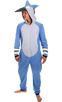 Mordecai One Piece Costume- Regular Show