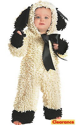 Baby Wolly the Lamb Costume