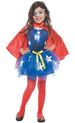 Toddler Girls Tutu Superhero Costume