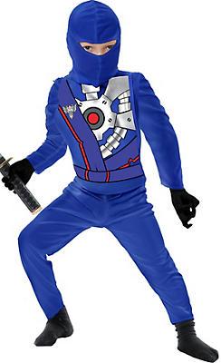 Toddler Boys Blue Ninja Avenger Costume