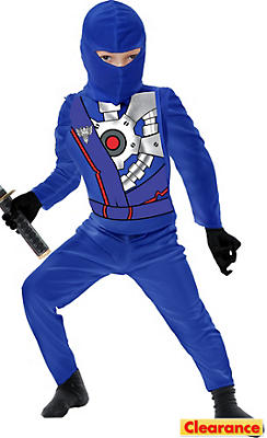 Toddler Boys Blue Ninja Avenger Costume